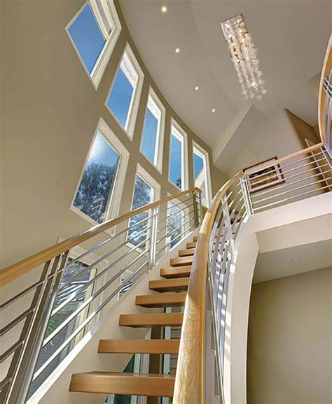 Residential Stairs Design Free Standing Stairs For A Minimalist Aesthetic Artistic Stairs