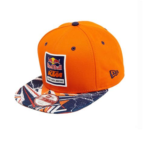 Ktm Hat Aomc Mx Redbull Ktm Facotry Racing Spikes Hat Orange