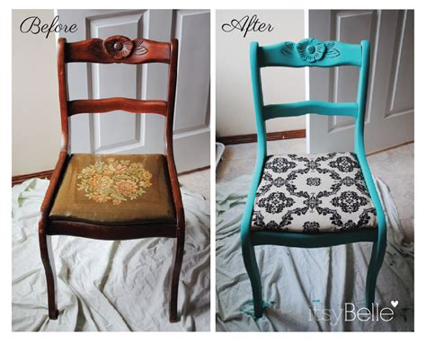 Dining Table Ideas by Vintage Chairs Makeover With Chalk Paint Itsy Belleitsy