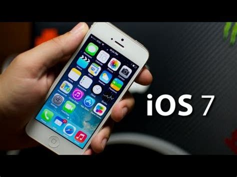 ios 7 look on iphone 5