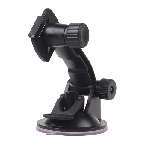 Glass Suction Cup Mount With Go Pro And 1 4 Ballhead Mount gopro car windshield suction cup mount stand holder for go