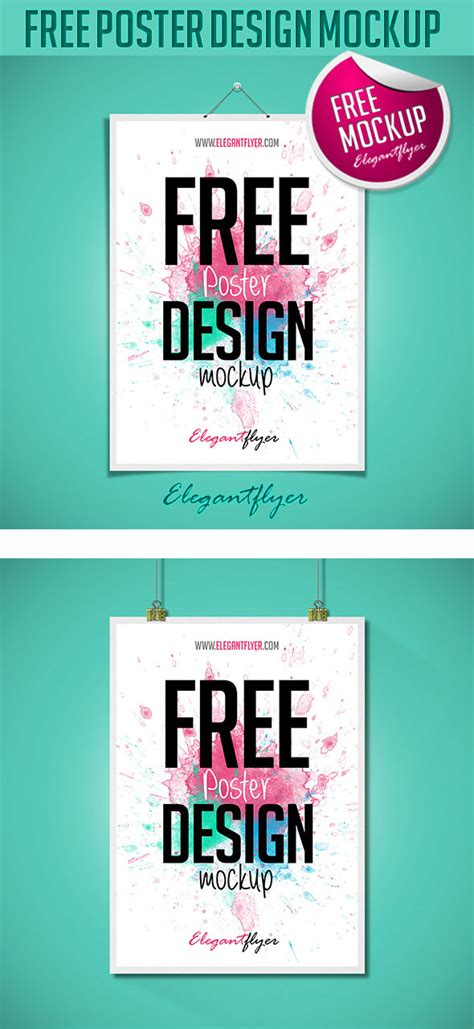 free psd poster design templates 47 free psd mockups for business and entertainment
