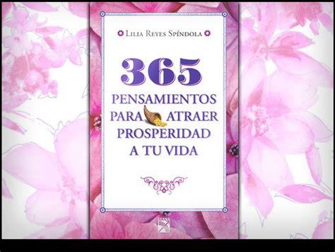 libro revelaciones 365 pensamientos american libro 365 pensamientos para atraer prosperidad actitudfem