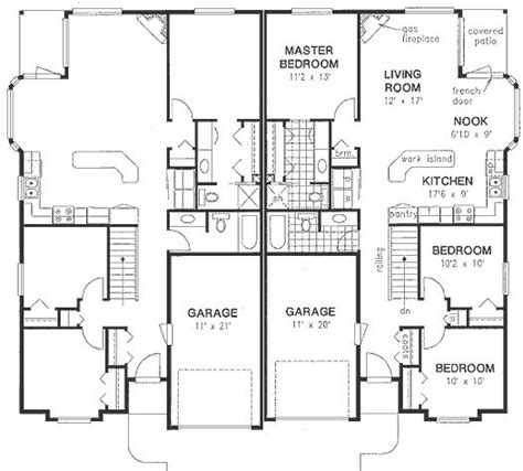 Duplex House Plans Canada Duplex House Plans Canada House Plans And Design Modern