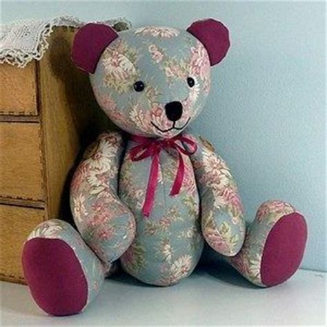 memory teddy bear patterns 25 best ideas about memory bears on pinterest sewing