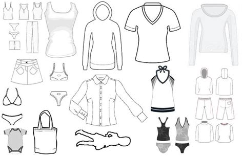 Clothes Templates clothing template 1 by hospes on deviantart
