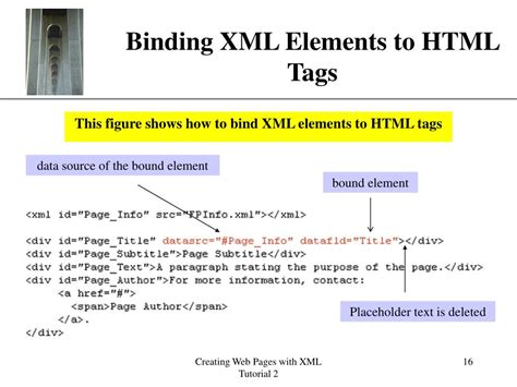 xml tutorial element attribute ppt new perspectives on xml powerpoint presentation id