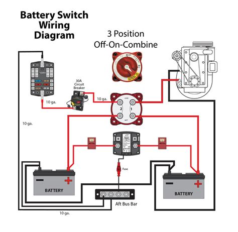 battery switch wiring diagram 29 wiring diagram images