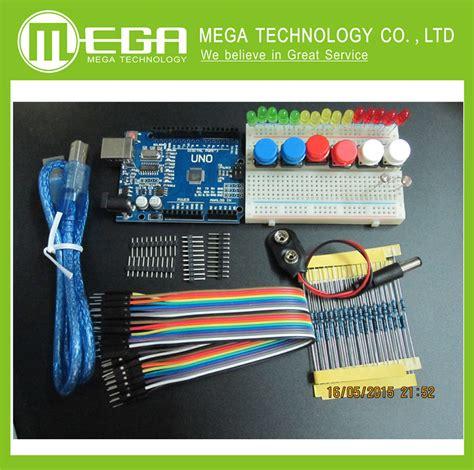 Starter Kit Kiosk 1set free shipping 1set new starter kit uno r3 mini breadboard led jumper wire button for arduino
