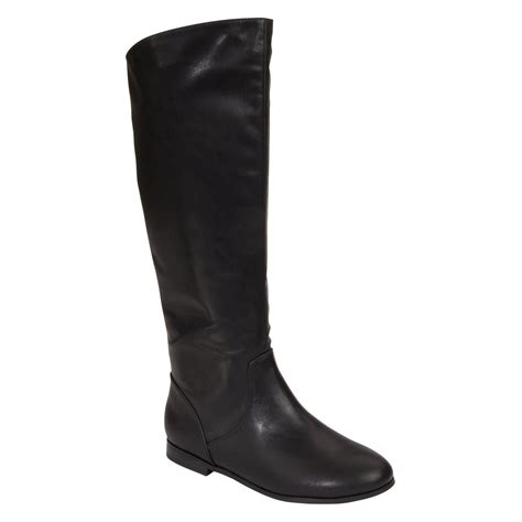 womens boot black boot from sears