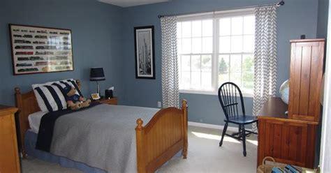 blue walls  boys bedroom paint color amsterdam