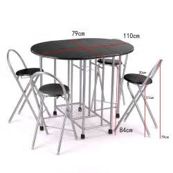 breakfast kitchen dining dinnier folding unique set table