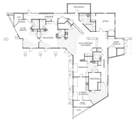 floor plan for child care center pinterest the world s catalog of ideas