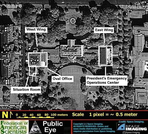 layout white house president s emergency operations center united states