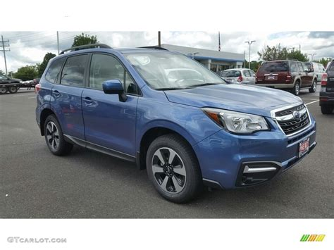 2017 Quartz Blue Pearl Subaru Forester 2 5i Premium