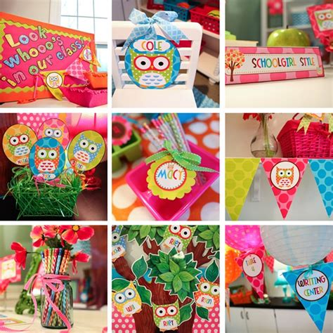 owl theme the owl collection part two schoolgirlstyle