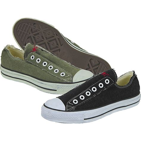 Converse Chuck All Slip Sneakers Hijau converse chuck all slip low denim slip on shoes music123