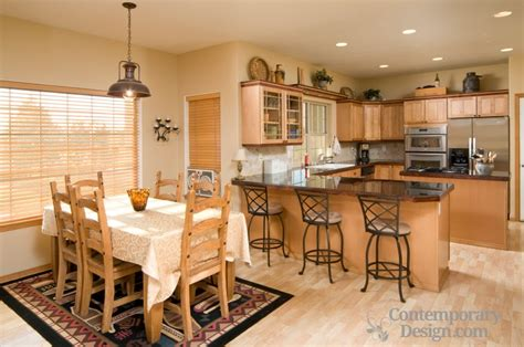 dining kitchen ideas open kitchen dining room