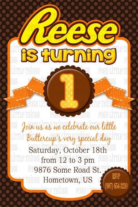 Best Images About Reeses  Ee  Birthday Ee   Idea On Pinterest