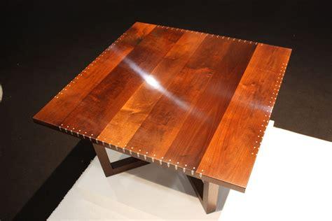 artisan turns wood flaw  stunning furniture design feature