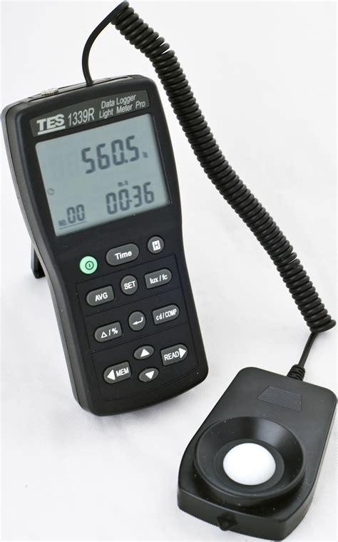 light intensity data logger tes 1339r datalogging light meter pro surveillance