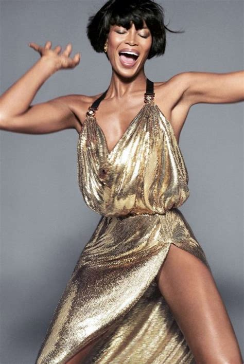 Catwalk To Photo Shoot Rihanna In Versace On The Cover Of Cosmopolitan Us March 2008 by Gisele Bundchen Cbell And Kaia Gerber For