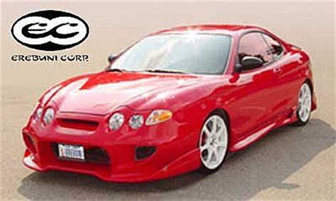 frontbumper  hyundai coupe   avb sports car tuning spare parts
