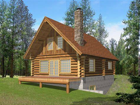 Log Cabin Vacation Packages by Questover Log Cabin Home Plan 088d 0053 House