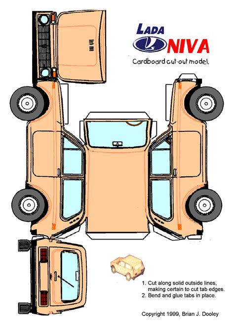 Cut Out And Make Paper Models - 1000 images about lada on 4x4 cars and cars