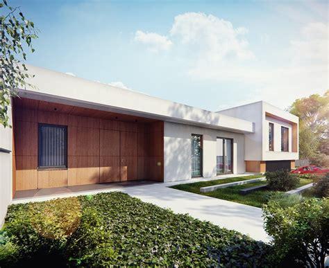 tek katlı modern ev tasarımları dekorasyon mobilya