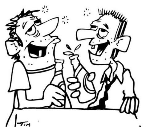 imagenes para dibujar sobre el alcoholismo dibujo de borachos bebiendo alcohol para pintar y colorear