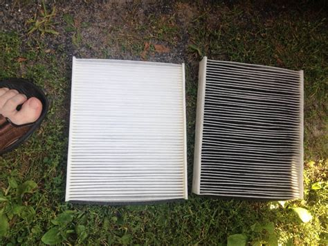 Cabin Filter Vs Air Filter by Cabin Air Filter Vs New Size Large 2013 Cmax