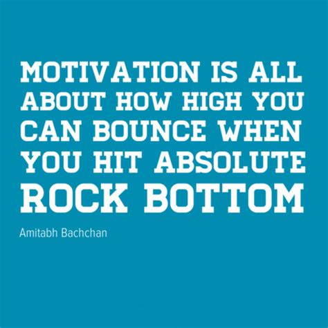 Hits Rock Bottom by When You Hit Rock Bottom Quotes Quotesgram