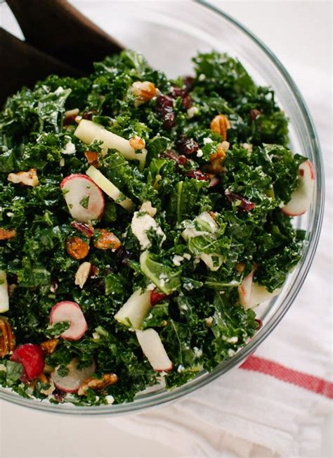 Smitten Kitchen Kale Salad by Deb S Kale Salad With Apple Cranberries And Pecans