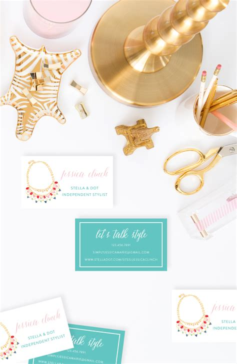 stella and dot business card template stella and dot business cards choice image business card
