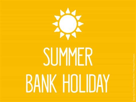 summer bank how many weeks until 28th august 2017