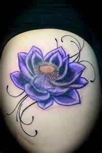 Purple Lotus Flower Meaning Purple Lotus By El Dugi Lewis Tattoonow