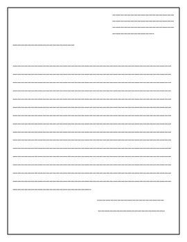 blank letter template simplyxteaching teachers pay