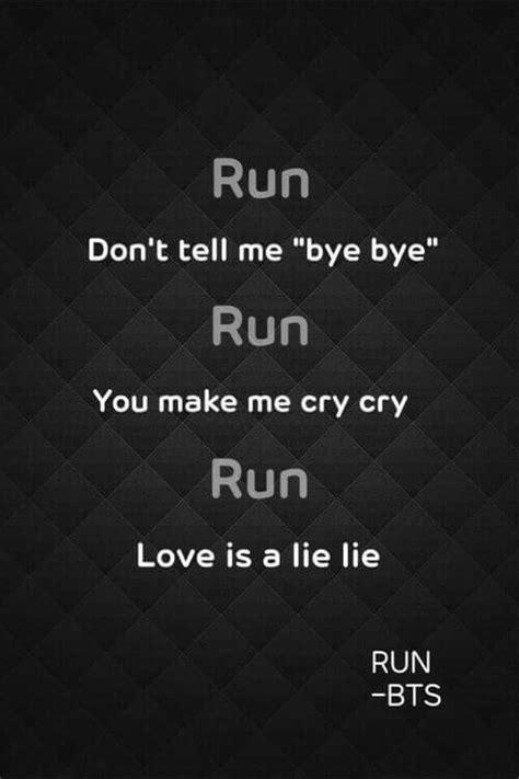 bts wallpaper lyrics bts run lyrics k pop pinterest bts bts wallpaper