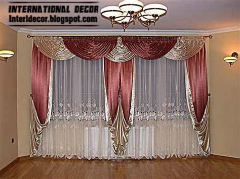 How To Design Curtains For Living Room by 5 Curtain Designs With Drapes Colors