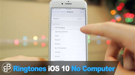 make free iphone ringtones set any song as ringtone text sound no computer ios 11