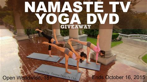 Yoga Giveaway - femme fitale fit club 174 bloggiveaway archives femme fitale fit club 174 blog