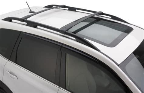 Subaru Forester 2014 Roof Rack by Genuine 2014 Subaru Forester Roof Rack Aero Crossbar Set