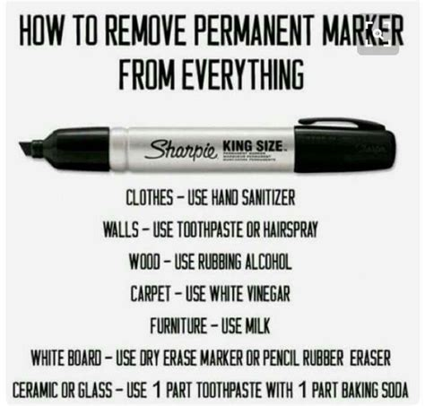 how to get permenant marker 25 best ideas about remove permanent marker on
