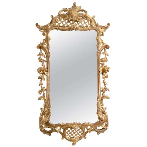 unusual mirrors an unusual george ii carved gilt wood mirror