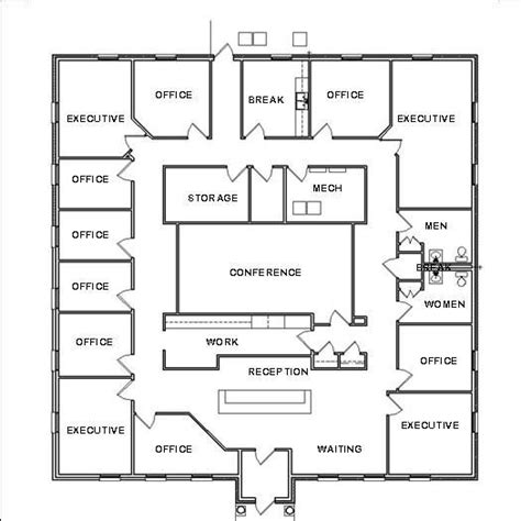 office floor plan ideas office design floor plan officedecorating plans and home