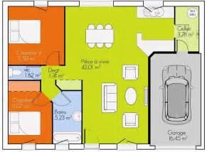 plan 3d 2 chambres plans maisons