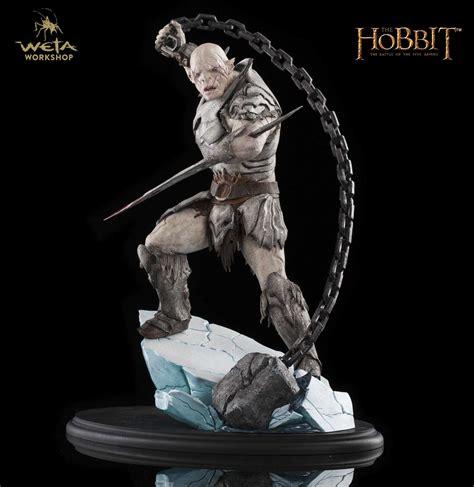 azog in the hobbit azog commander of legions now at the weta shop mordor