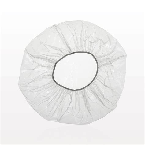 Shower Cap qosmedix processing shower cap clear