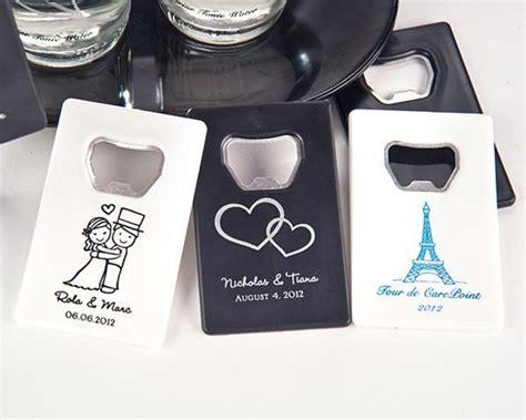 tischlerei wedding personalized credit card bottle opener many designs